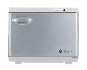 Continuum EarthLite® Standard Hot Towel Cabinet-WHITE 220V W/ International Plug