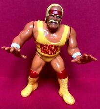 WWF HULK HOGAN Hasbro Figure SERIES 1 BLUE CARD