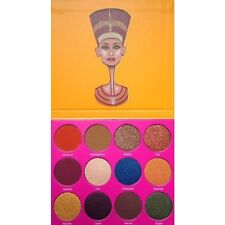 Juvias Place Nubian 2 Palette Yellow New Genuine Matte Shimmer Eyeshadow Brown