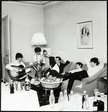 THE BEATLES POSTER PAGE 1964 NEW YORK PLAZA HOTEL - WITH BRIAN EPSTEIN . J21