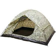 6 Person Tent  Water-Resistant Digital Camo Camping New