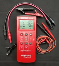 Benning Solar PV1-1 PV test meter with Sunclix leads (as Seaward PV150)