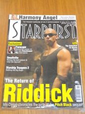 STARBURST #311 BRITISH SCI-FI MONTHLY MAGAZINE JUNE 2004 RIDDICK FARSCAPE