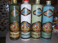 "4 Different 1977-1980 German Melkmeister Vtg Wine Bottles 11 1/2"" YOU CHOOSE ONE"