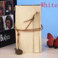 Vintage Journal PU Leather Cover Blank Note Book Travel Diary Paper Notepad Gift