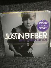 """Justin Bieber - My World 2.0 12"""" Vinyl  LP Sealed"""
