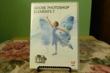 Adobe Photoshop Elements 7 w/ Serial Number - VG+