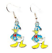Disney Inspired DONALD DUCK Character Drop Dangle Earrings - Ships Fast GIFT