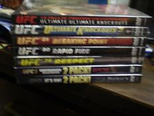 (9) UFC Ultimate Fighting Championship DVD Lot: UFC 47 48 49 50 74 80 81 & MORE