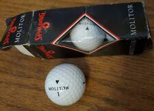 Vintage Spalding Molitor 422 Golf Balls 3 Pack New old stock