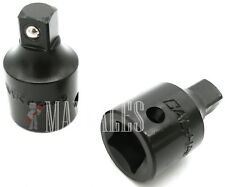 2pc SET 1/2 to 3/8 SOCKET REDUCER ADAPTERS IMPACT CR-M