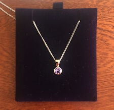 Tanzanite 9 Carat White Gold Fine Necklaces & Pendants