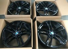 "Genuine BMW 20"" BLACK 3 / 4 / 5 / 6 Series * M SPORT * Wheels Rims - EXCELLENT"