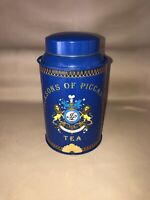 Jacksons of Piccadilly Vintage Tea Tin Canister