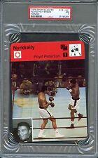 1978 Sportscaster Finnish MUHAMMAD ALI Floyd PATTERSON Boxing Card PSA 7 Rare!