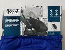 MAMAS & PAPAS All Seasons Footmuff Universal Pushchair Buggy Blue