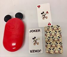 Mickey Mouse Mini Bicycle Brand Playing Cards & Travel Case