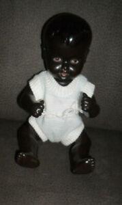 Kleine -  farbige - Babypuppe - Celba - 24 1/2 ca groß -