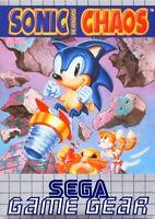 SEGA Game Gear Spiel - Sonic the Hedgehog Chaos Modul