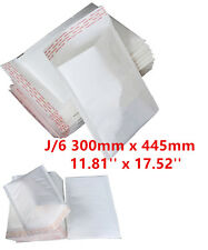 50  J/6 J6 White Padded Bubble Lined Postal MAIL Envelopes LITE Cheap 300x445mm
