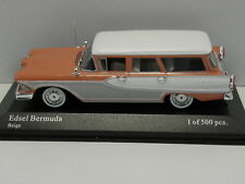 MINICHAMPS 400082012 Sammelmodell Edsel Bermuda STATION WAGON 1958 M.1:43