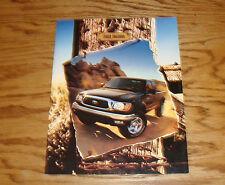 Original 2002 Toyota Tacoma Foldout Sales Brochure 02