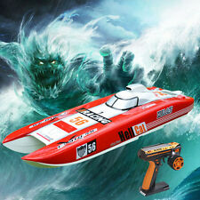 DT G30E Hell Cat 30CC Engine Gas RC Racing Speed Boat 70Km/h Fiber Glass ARTR