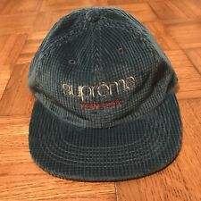 5f57851ea97 Supreme Classic Logo Corduroy Hat