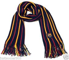 FC Barcelona Fashion Scarf Winter Lionel Messi  By Rhinox Scarf FCB Soccer