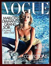 Vogue Paris ~ #908 June/July 2010 ~ Kate Moss Lara Stone Mario Sorrenti