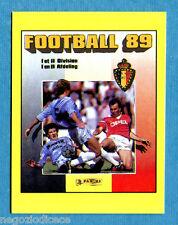 FOOTBALL 98 BELGIO Panini -Figurina-Sticker n. Y - FOOTBALL 89 COVER -New