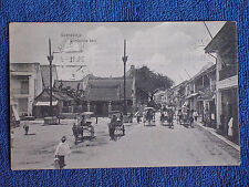 Soerabaja Java Idonesia/Chinatown Street-Chinese Temple/Printed Photo Pc/1911