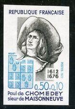 TIMBRE FRANCE NEUF N° 1706 ** NON DENTELE / MNH / PAUL DE CHOMEDY COTE + 23 €