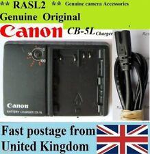 Cargador ORIGINAL CANON, CB-5L BP-511A EOS 50D 40D 30D 20D 10D, 5D MK1, PowerShot G6