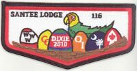 OA 116 Santee Lodge Flap S30 Dixie Trader 2010 Issue [PD134]