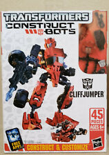 Transformers Construct Bots Cliffjumper & Silverbolt lot of 2! 100% Complete!!!
