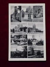Ansichtskarte Oschatz - Mehrfachansicht, Echtfoto Feldpost 1941 gelaufen