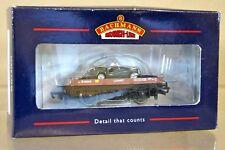 Bachmann 33-412 BR Marrón Carretilla Wagon b450141 & TRIUMPH TR3 coche carga MIB