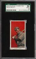 1909-11 T206 Ed Willett Piedmont 350 Detroit SGC 50 / 4 VG - EX