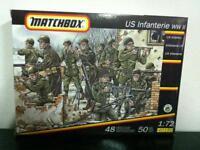 Matchbox Petits soldats 1:72 US INFANTERIE 50 Pezzi art. 40191 MIB, 1994