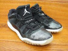 Nike Air Jordan 11 Retro Low barones Zapatillas Size UK 2 EU 34