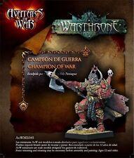 Avatars of War: Champion of War - AOW45 -Warhammer Character - Chaos Character