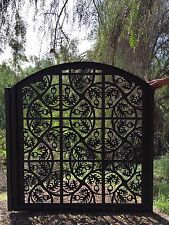 Metal Gate Custom Entry Acorn Walk Pedestrian Iron Garden Art Steel Made in USA
