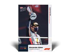 2020 TOPPS NOW F1 #4 ALEXANDER ALBON - FIRST PODIUM IN FORMULA 1