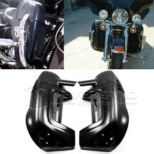 Painted Lower Vented Leg Fairings For Harley Touring Road King Electra Glide BLK