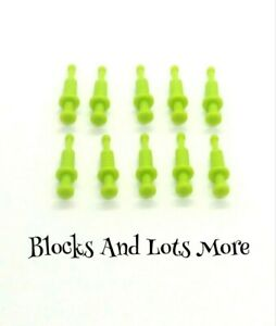 NEW LEGO 10 x Lime Green Syringes Utensils Hospital Vet Doctor Pieces Part 53020