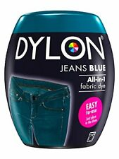 DYLON Machine Dye Pod, Jeans Blue, easy-to-use fabric colour for laundry, 350g