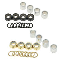 Iron Nut Washer Bolts Screws Spacer Bearings Skateboard Longboard Accessories