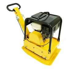"""Reversible Vibratory Plate 350 lbs with Honda 9Hp 20x27"""" Plate size New Teqmac"""