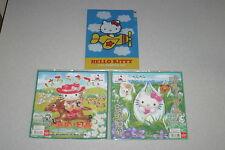 SANRIO Hello Kitty 2 Mini Towel Horse&skunk cabbage Hokkaido &Clear file SET JPN